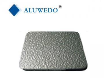 panneau composite aluminium gaufr aluwedo. Black Bedroom Furniture Sets. Home Design Ideas