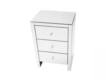 table de chevet miroir table de nuit miroir yingfeng. Black Bedroom Furniture Sets. Home Design Ideas